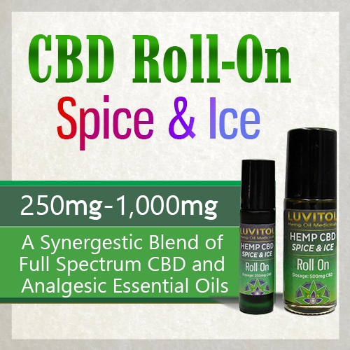 Luvitol CBD Roll-On