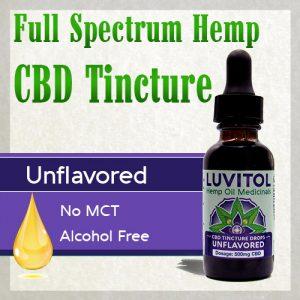 Luvitol Organic CBD Tincture