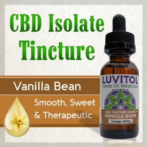 Luvitol CBD Isolate Flavored with Organic Terpenes