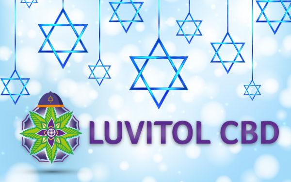 Luvitol CBD Happy Hanukkah Gift Cards