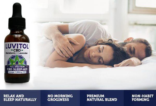 Luvitol CBD Sleep Aid
