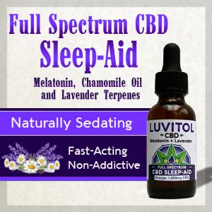 Luvitol CBD Sleep Aid