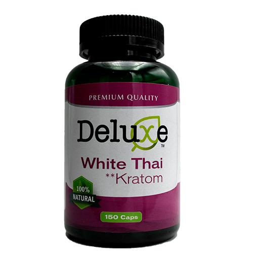 Delux White Thai Kratom Capsules